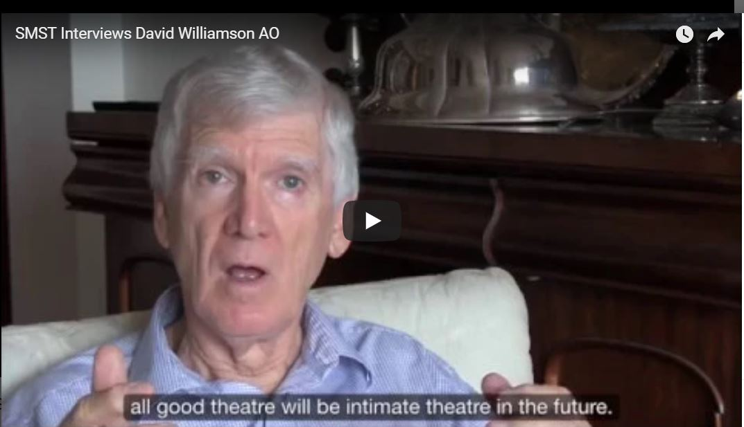 Full interview with David Williamson AO – our patron