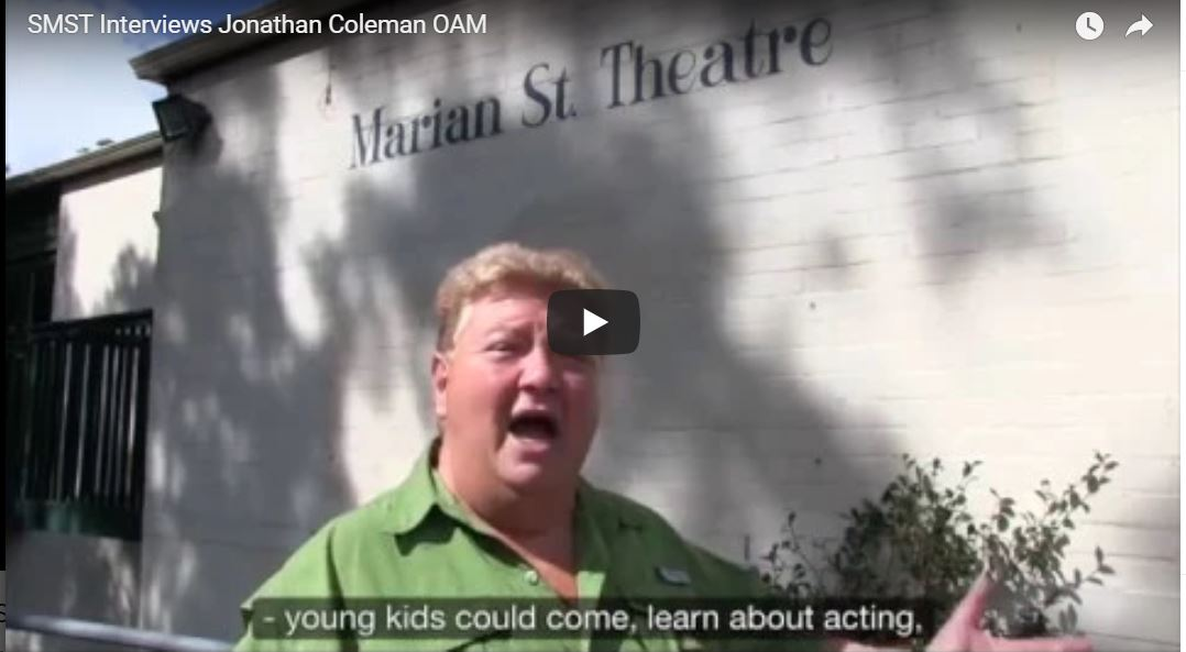 Full interview with our founding patron Jonathan Coleman OAM