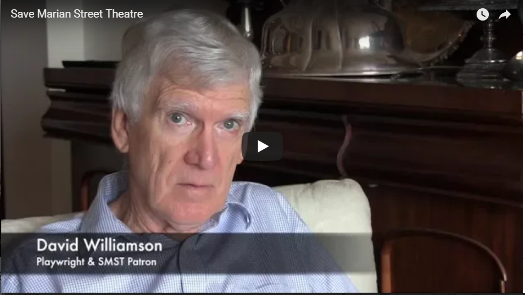 A video introduction – Save Marian Street Theatre